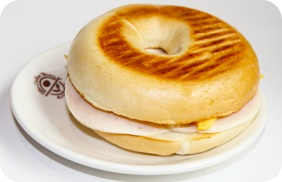 Bagel Ham Cheese